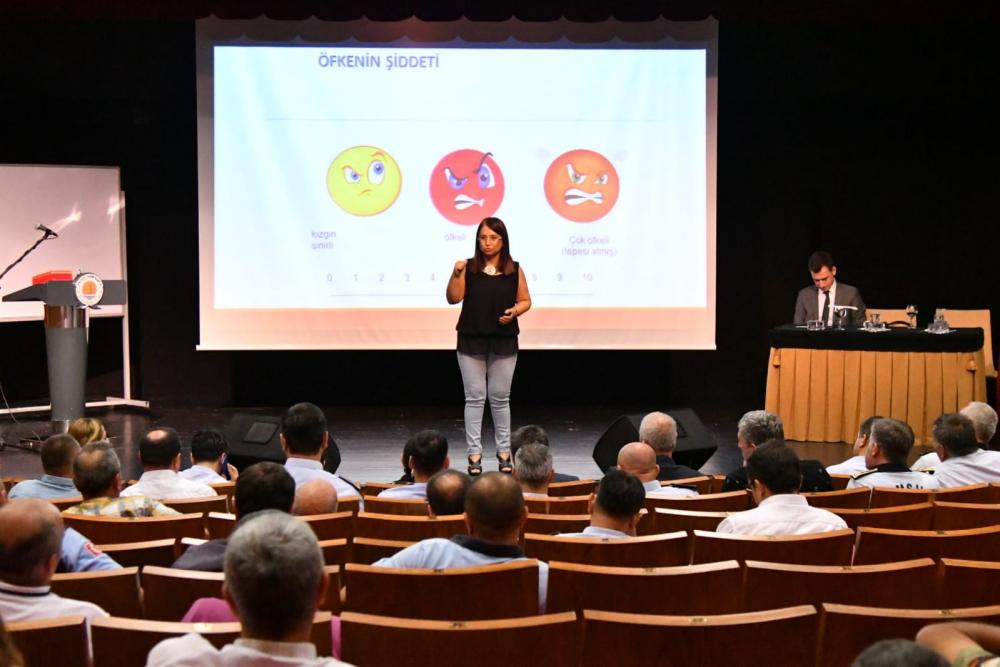 'ÖFKE KONTROLÜ' semineri