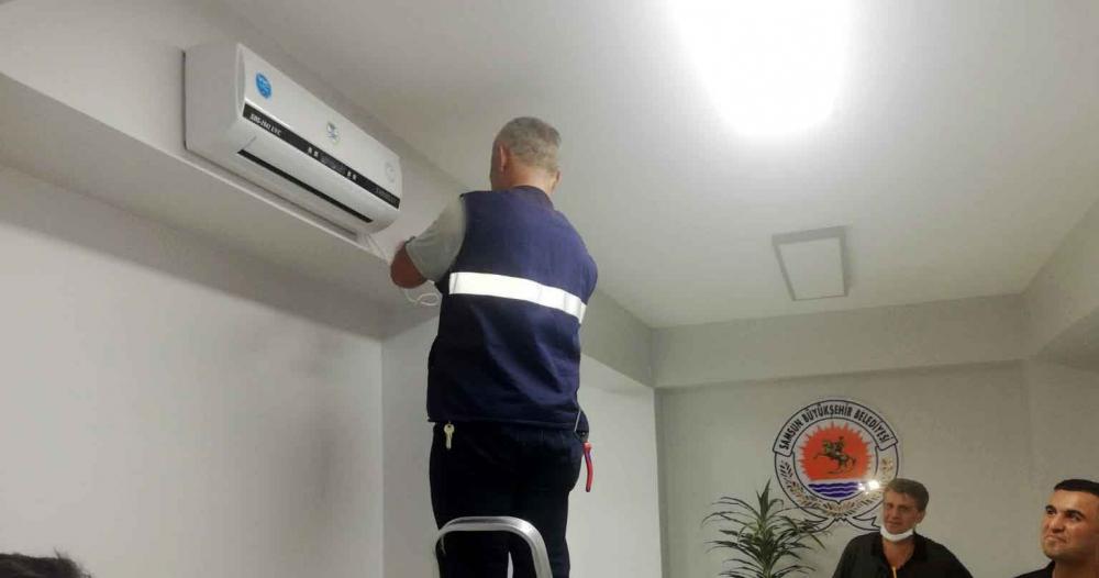Samsun Büyükşehir'den, virüse karşı 'hava sterilizasyon cihazı'